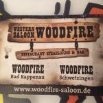 Western Saloon Woodfire