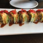 Amazing sushi roll!
