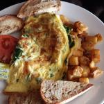 Omelette with Homefries