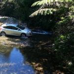 Stream crossing to Wairua Lodge