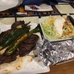 Carne Asada with Sides