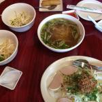 Without Meats Egg Noodle Soup