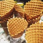 Homeade Waffle Cones
