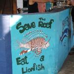 Not on the menu while we were there, but it is a great fish to eat!