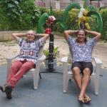 My husband and Metina