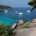 View from Sail Rock on Island 8 (Ko Similan)