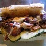 Cajun Po Boy sandwich