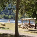toller Picknickplatz hinter dem Campingplatz