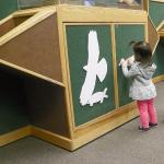 Displays and Velcro Animal shapes