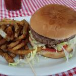 Frankies burger