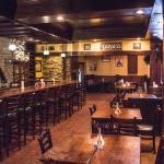 Main dining room and bar.