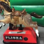 New coin operated horse ride