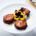 Traditional Skewer of Pork, Pork Belly and Chicken Liver