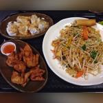 From a customer - Pad Thai with tasty apps!