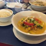 This is the delicious number 12: Chicken-Mango-Curry