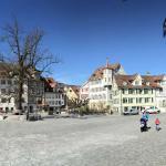 Altstadt Zentrum Panorama mit Kirche
