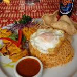 BEER egg rice spice what's not to love