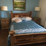 Room 2 double Orinocco wooden bed. Wool duvet. Ensuite and power shower
