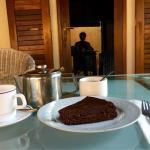 """Když navštívím botanickou zahradu tak musím zajít i na vynikající Sacher dort do """"vídeňské kavár"""