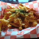 Really good garlic fries!