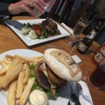 awesome burger and eye fillet