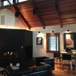 Industry Cottage living room.