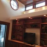 Industry Cottage bedroom, ceiling detail.