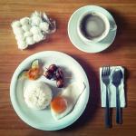 Breakfast was OK