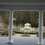 Outside view..Many weddings are held in the gazebo