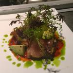 Rare Seared Albacore Tuna