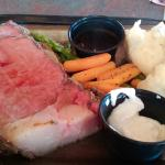 Prime Rib (rare) - Commodores cut