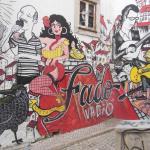 Alfama Neighborhood - street art