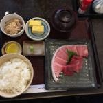 Super Maguro!!定食です。