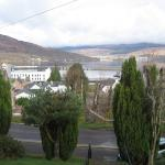 View over Loch Linnhe from house entrance