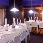 Restaurante Larrau en Barakaldo (Bizkaia) comedor