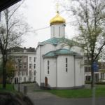 City of many religions. An orthodox church