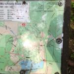 This is a gem of a state park, which includes a small lake and several flat trails that traverse