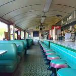 1957 style American diner.