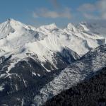 Blick auf die Berge... fantastisch