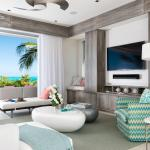 Dunes Living Room, Private Beachfront Villa
