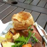 Roast beef at Barnsgate Manor- top notch!