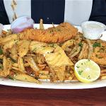 Fried Platter. No one can eat it all.