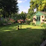 The garden at Fairlight Lodge