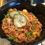 chixn bbq wheat noodle