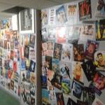 Awesome movie posters in the hostel corridors!