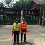 the ever friendly and helpful crossing guards to the restaurant