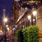 The Westminster hotel facade