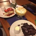 Our Deserts - yummy!