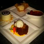 Try several of the desserts!