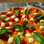 Cherry Caprese Pizza
